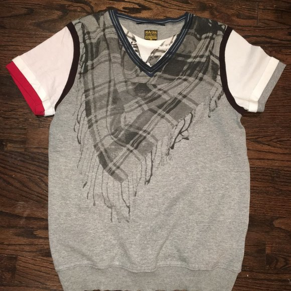 rare Other - RA-RE Rag Recycle Italy Shirt Vest size L
